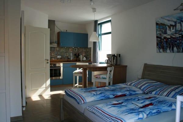 Wohn/Schlaf/Küchenbereich