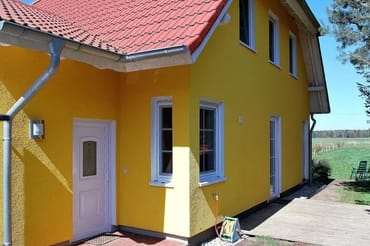 Bild: Ruhiges Ferienhaus mit weitläufigem Blick
