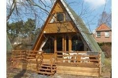Bild: Bernsteinhütte (700m zum Strand ) Finnhütte
