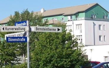 Bild: An der Bernsteintherme
