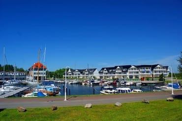 Bild: Ferienwohnungen Hafenidyll mit Hafenblick