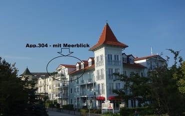 Bild: MEERBLICK-ruhig-strandnah-FEWO 304-Waldkrone****