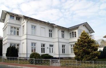 """Bild: Villa """"Borwig"""" - zentrale Lage/300m bis zum Strand"""
