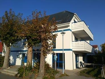 Bild: Appartmenthaus - großer Südbalkon