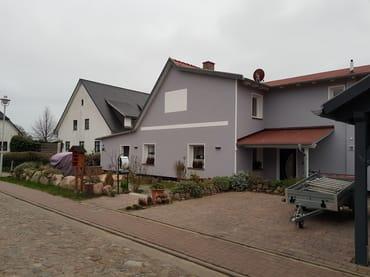 """Bild: Ferienwohnung """"Fiene"""" mit Boddenblick und Kamin"""