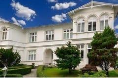 Bild: Gartenhaus der Villa Elisabeth - 50m zum Strand
