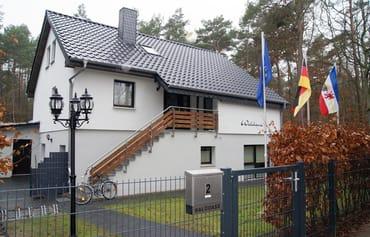 """Bild: Haus """"Waldoase"""" 300 m vom Strand entfernt"""