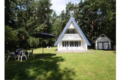 Bild: Sommerhaus im Dünenwald