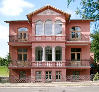 Bild: Villa San Remo - dem Ostseestrand ganz nah
