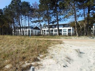 Bild: 1. Reihe, Ferienwohnung am Strand der Schaabe