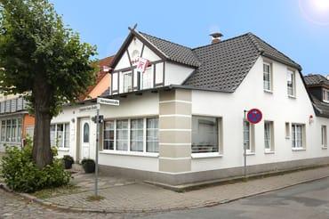 Bild: Kapitänshaus Warnemünde