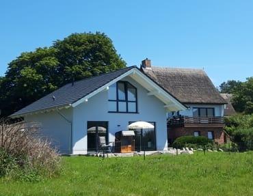Bild: Schwalbenhus - Ferienhaus am Achterwasser