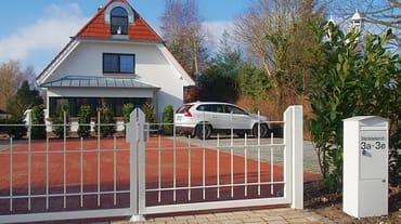 Bild: Ferienhaus Ostseetraum 170 Meter zum Strand