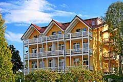 Bild: Villa Bergfrieden  - Sauna und Meerblick