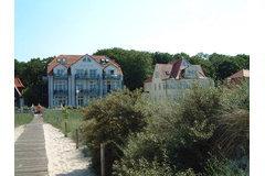 Bild: Strand Palais mit Meerblick