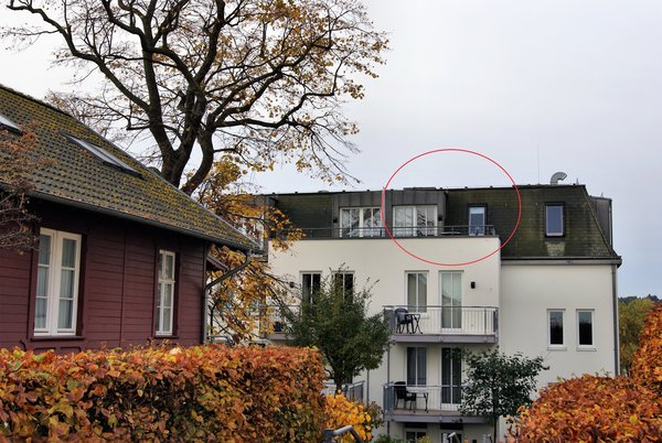 Bild: Dachstudio ***2.33 im Seehof Bansin (Upstalsboom)