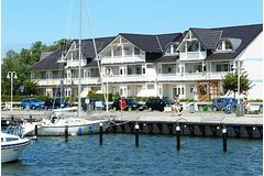 Bild: Hafenidyll mit Hafenblick