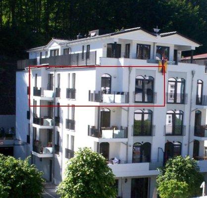"""Bild: Villa Lena  Ferienwohnung 12 """"Lichtblick"""""""