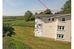Bild: Haus Greifswalder Bodden mit Balkon/Meerblick