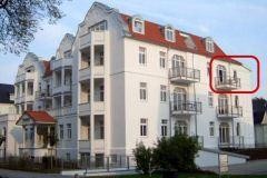 Bild: Appartementhaus Miramare Wohnung 24 in 1. Reihe
