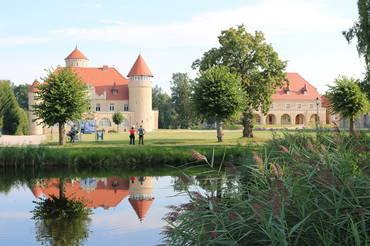Bild: Graefinnensuite im Westflügel Schloss Stolpe