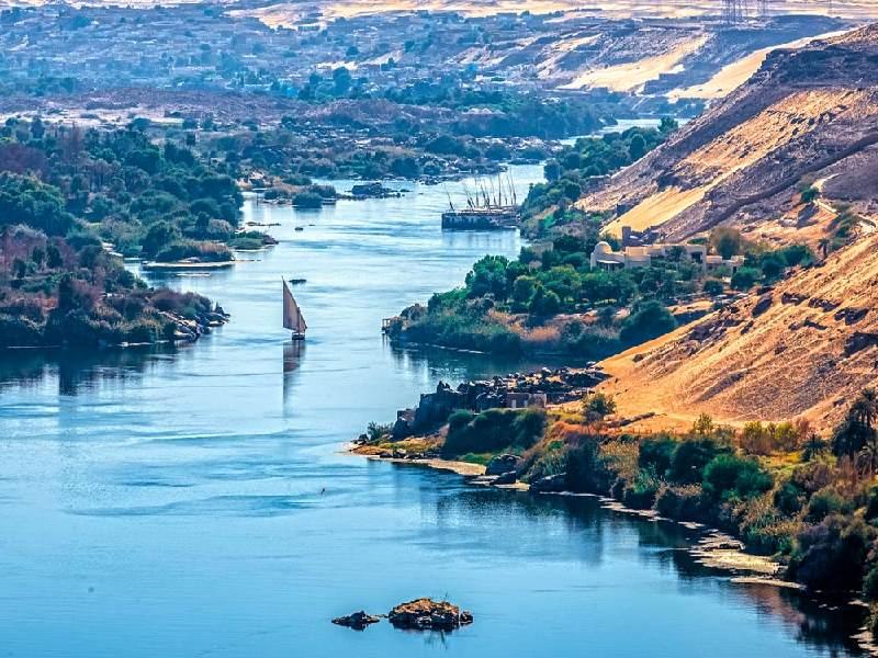 Nile in Aswan