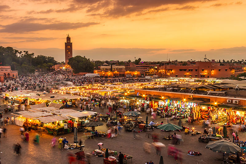 Jamaa-El-Fenaa-Market, Morocco