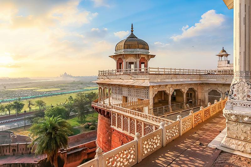 Agra Fort Balcony