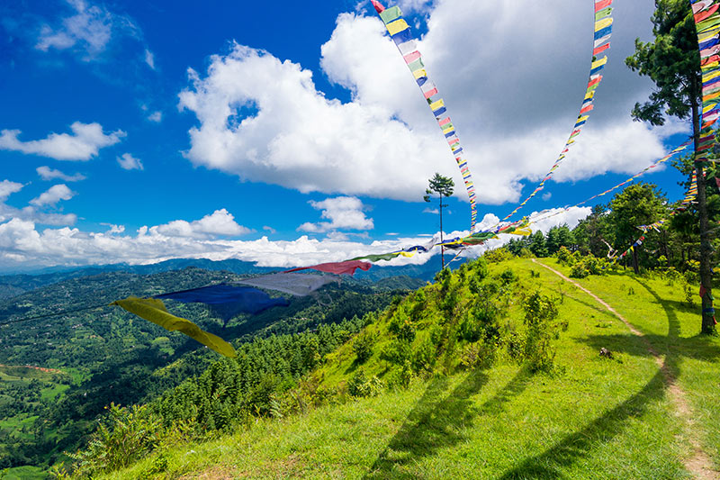 Kathmandu in the Summer