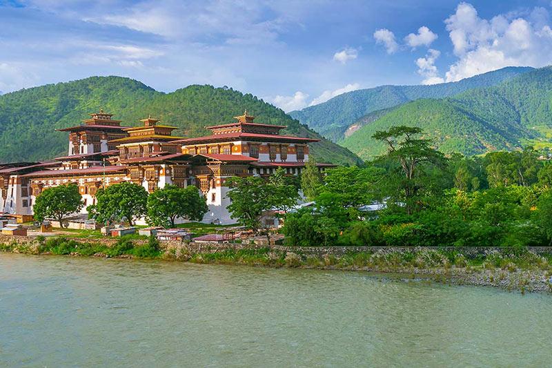 Temple in Bhutan