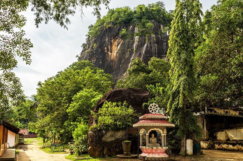 Mulgirigala Rock Temple, Sri Lanka
