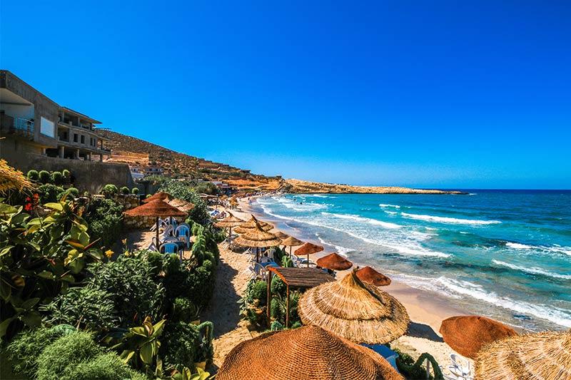 Tunisian Beach Front