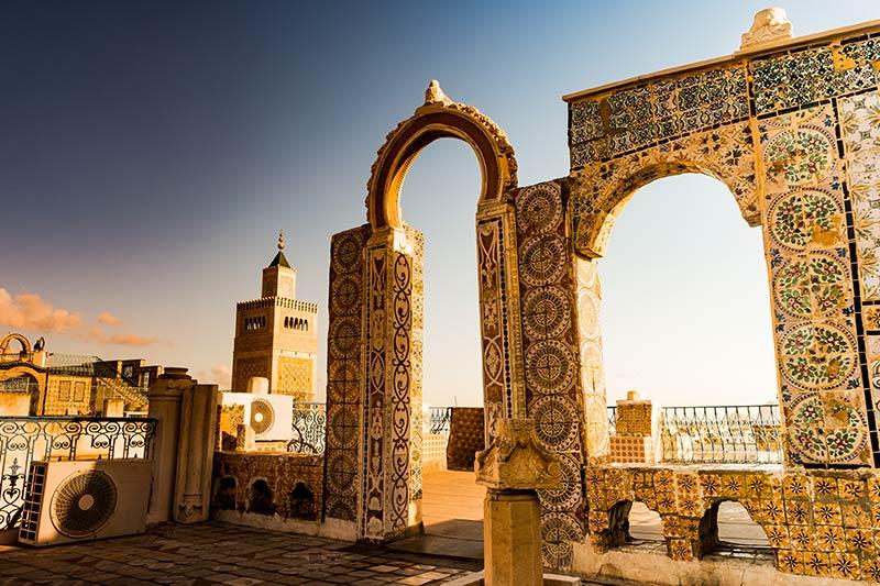 Gateway in Tunisia