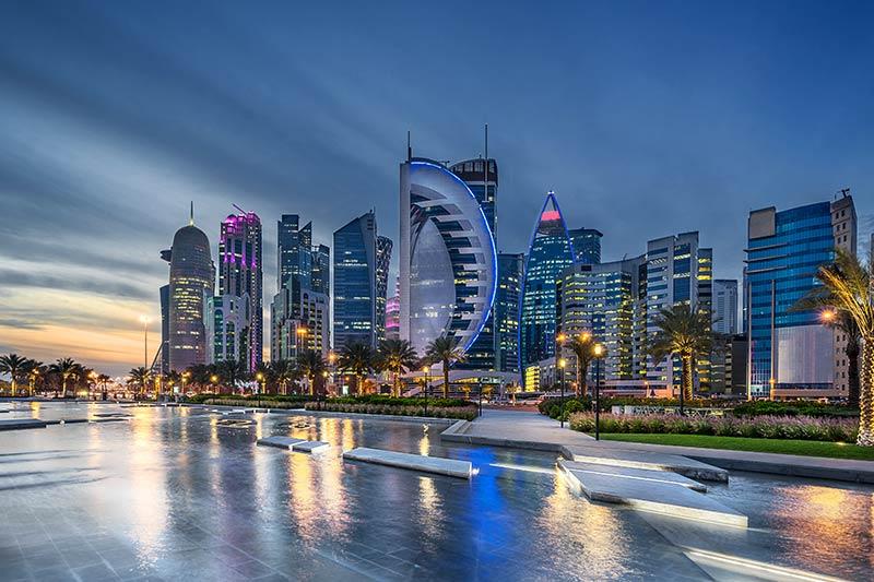 Dubai sea front