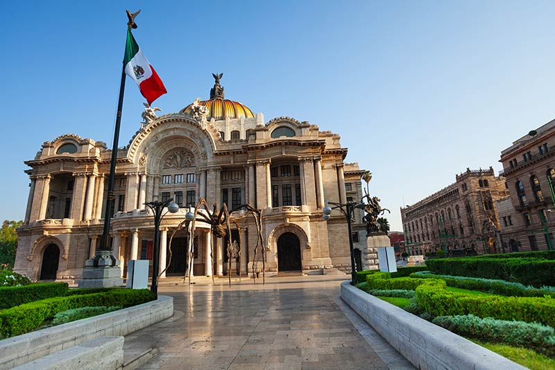 Mexican palace