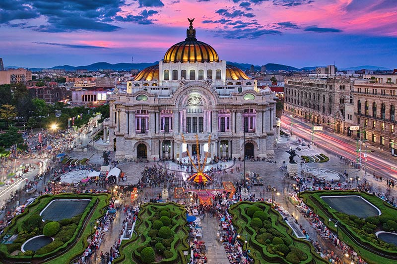 Palace in Mexico