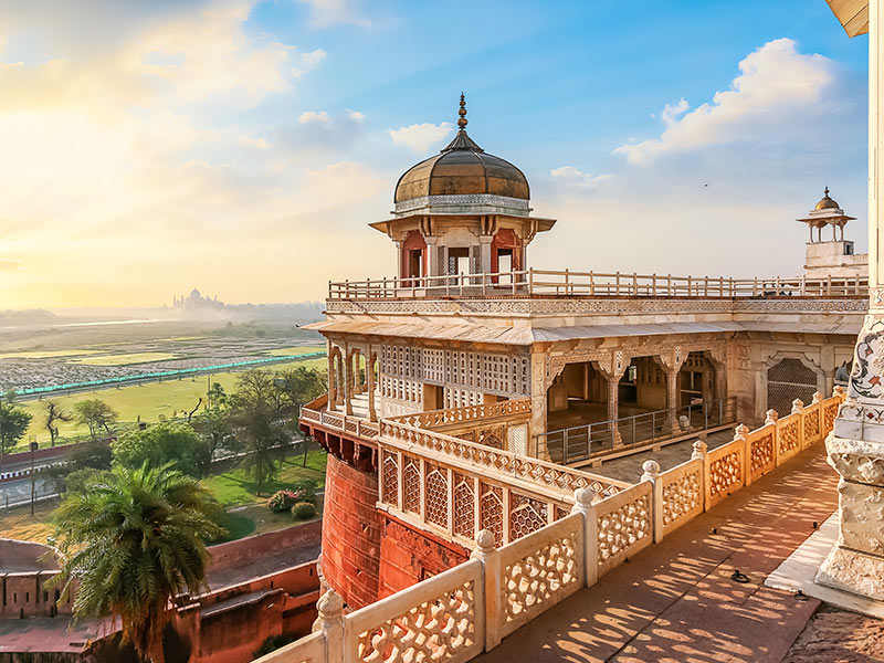 Agra Fort Balcony