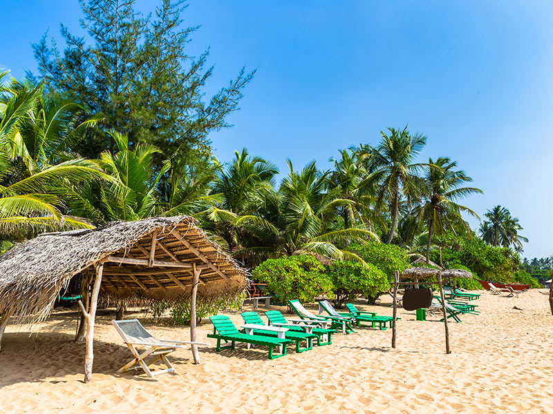 Tengalle Beach, Sri Lanka
