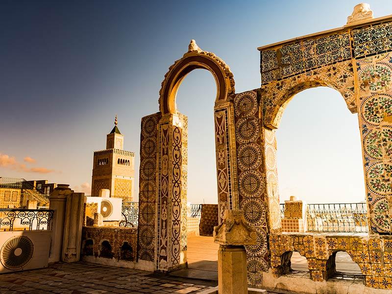 Tunisia  Architecture