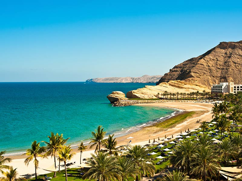 Oman Sea Shore
