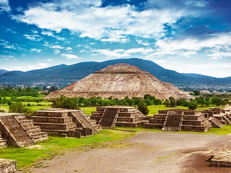 Pyramids of the Sun