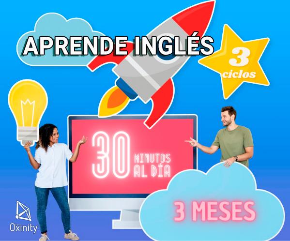 Aprende Inglés Rápido con aceleración en ciclos de 3 meses