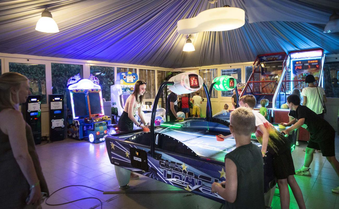 Sala giochi al Park Albatros Village
