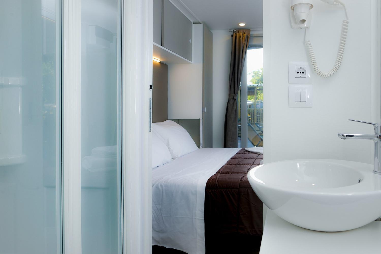 Bagno in camera nella Casa Mobile Eden