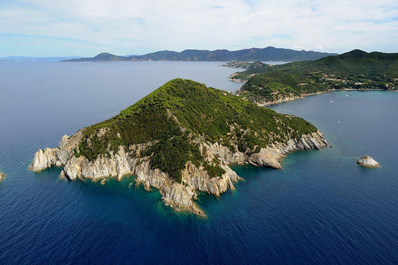 Panoramica Isola d'Elba Toscana