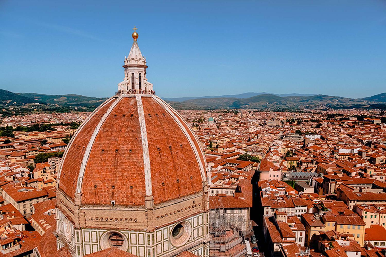Cupola del Brunelleschi a Firenze   Tuscany