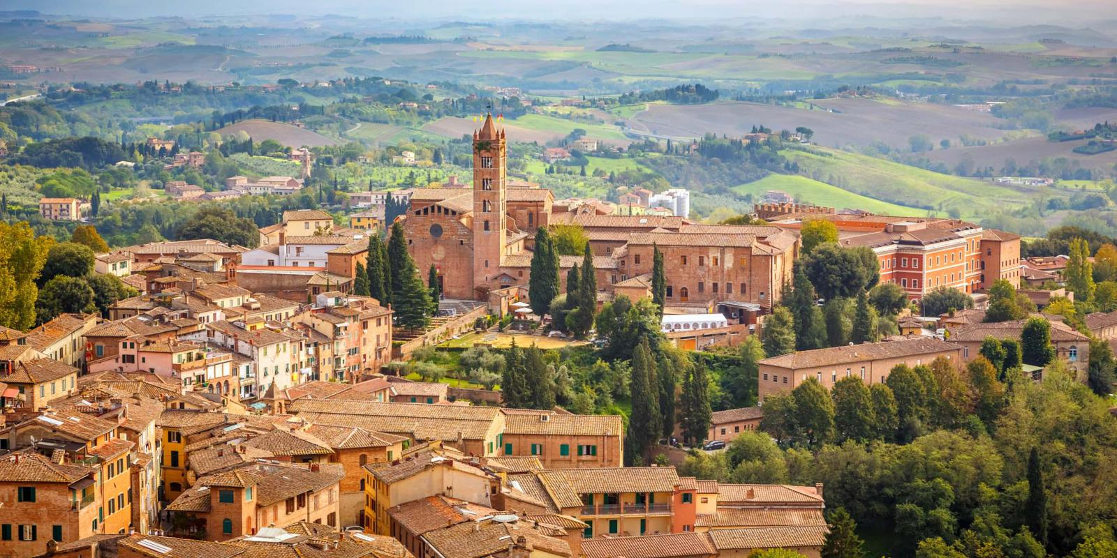 Panorama di Siena dall'alto | Tuscany