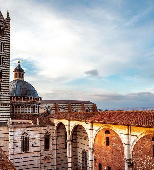 Campanile di Siena in Toscana