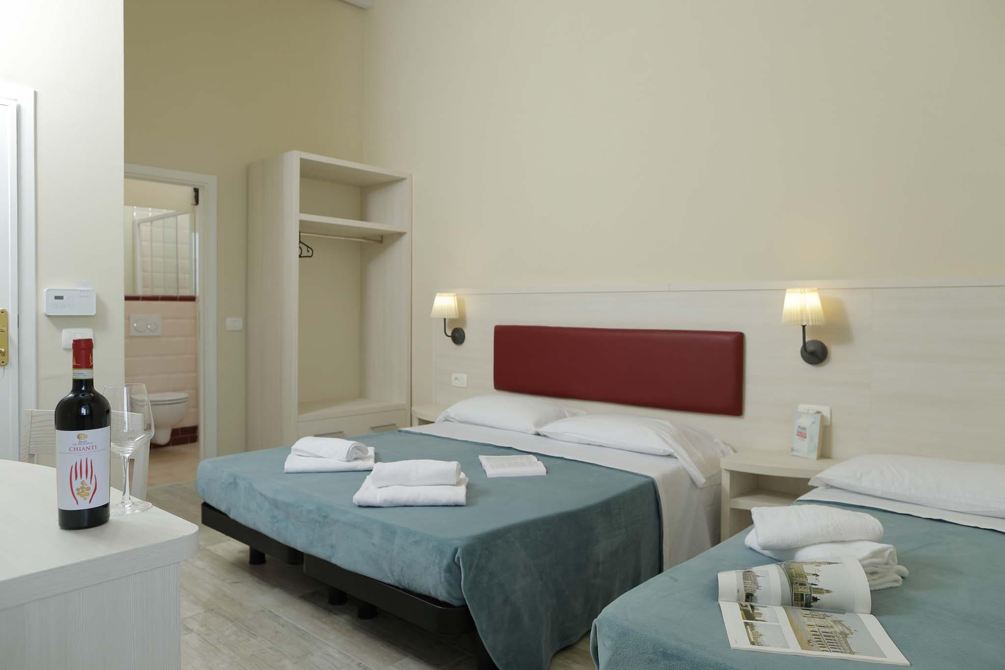 Camera tripla Hotel a San Vincenzo Toscana