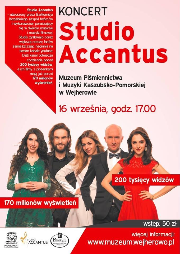 Koncert Studio Accantus w Wejherowie